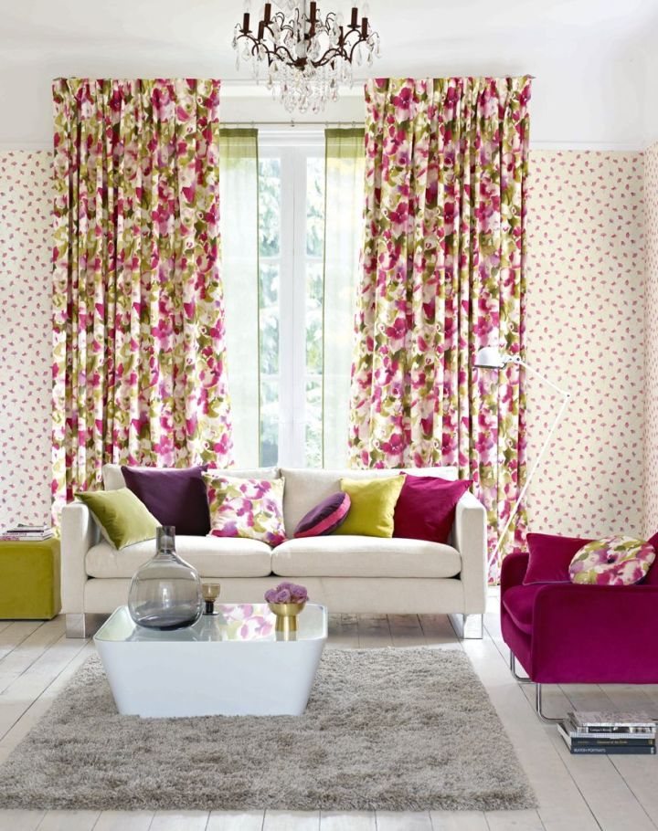 Wallpaper matching curtains cushions for Next wallpaper and matching curtains
