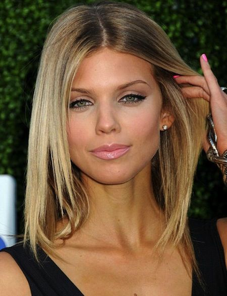 Medium Length Hairstyles Middle Part Google Search Style