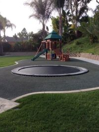 In-Ground Trampoline Are Safer Way To Jump High In Your ...