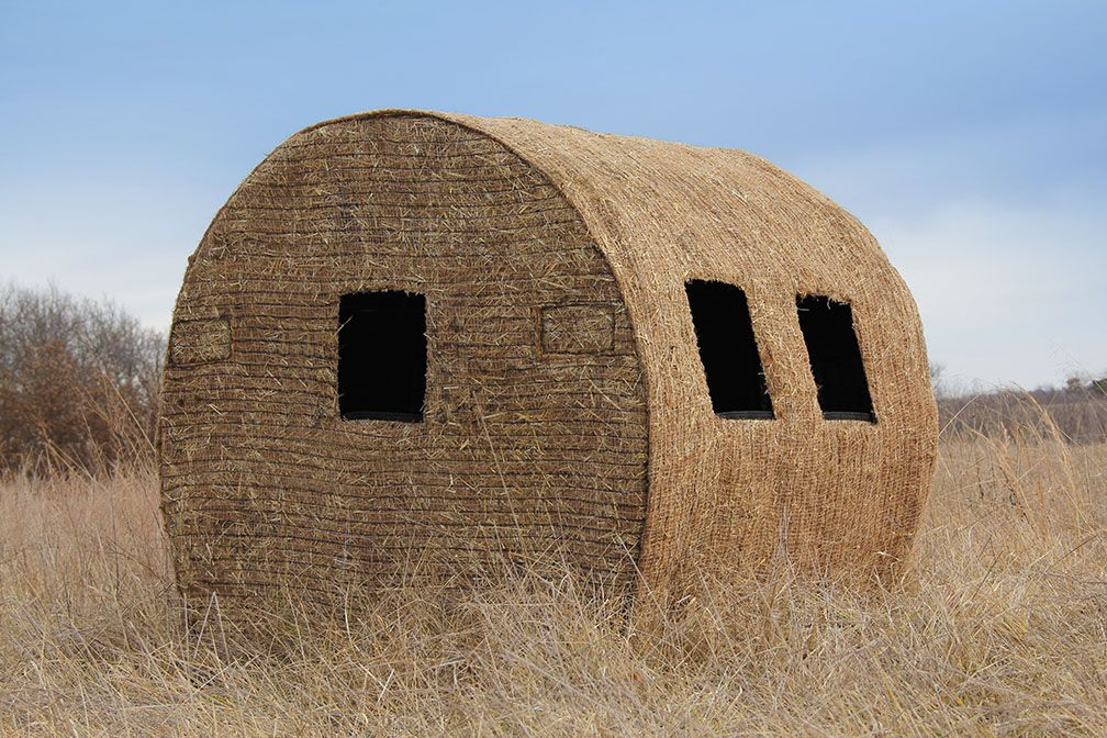 Blinds Homemade Round Bale