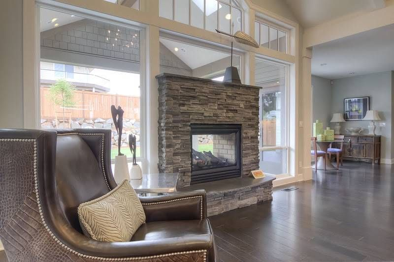 Indoor Outdoor Gas Fireplace Exciting Stone Ideas
