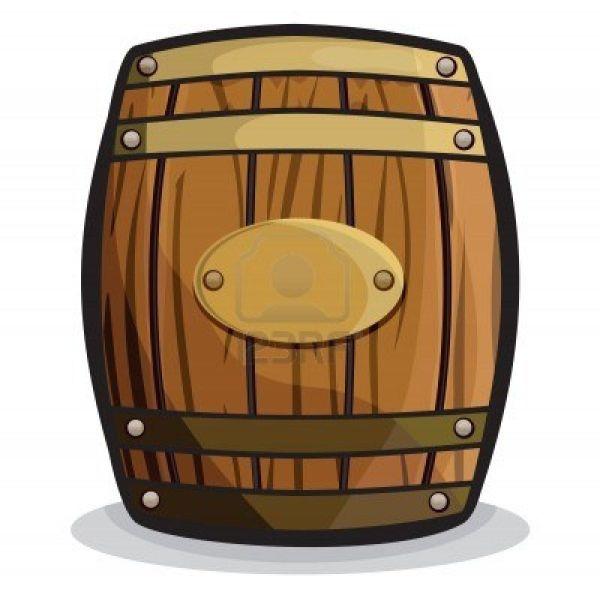 Wooden Barrel Clip Art
