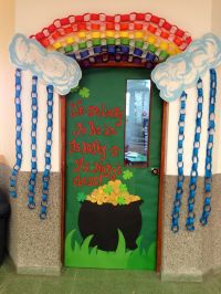 St. Patricks classroom door We are lucky to be in this ...