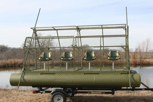 Floating Duck Blinds Fishing Blind