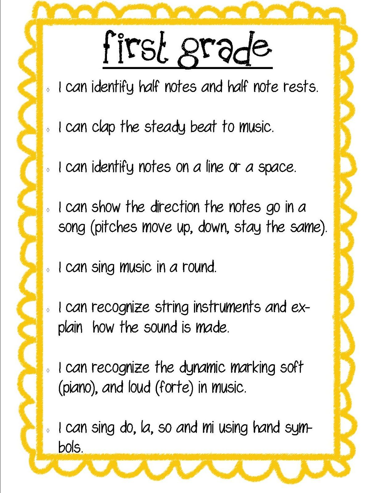 Fun Poems For First Graders