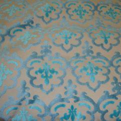 Velvet Sofa Fabric Online India Small Space Bed Peacock Damask Embossed Raised Upholstery Drapery