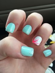 cute summer acrylic nails http