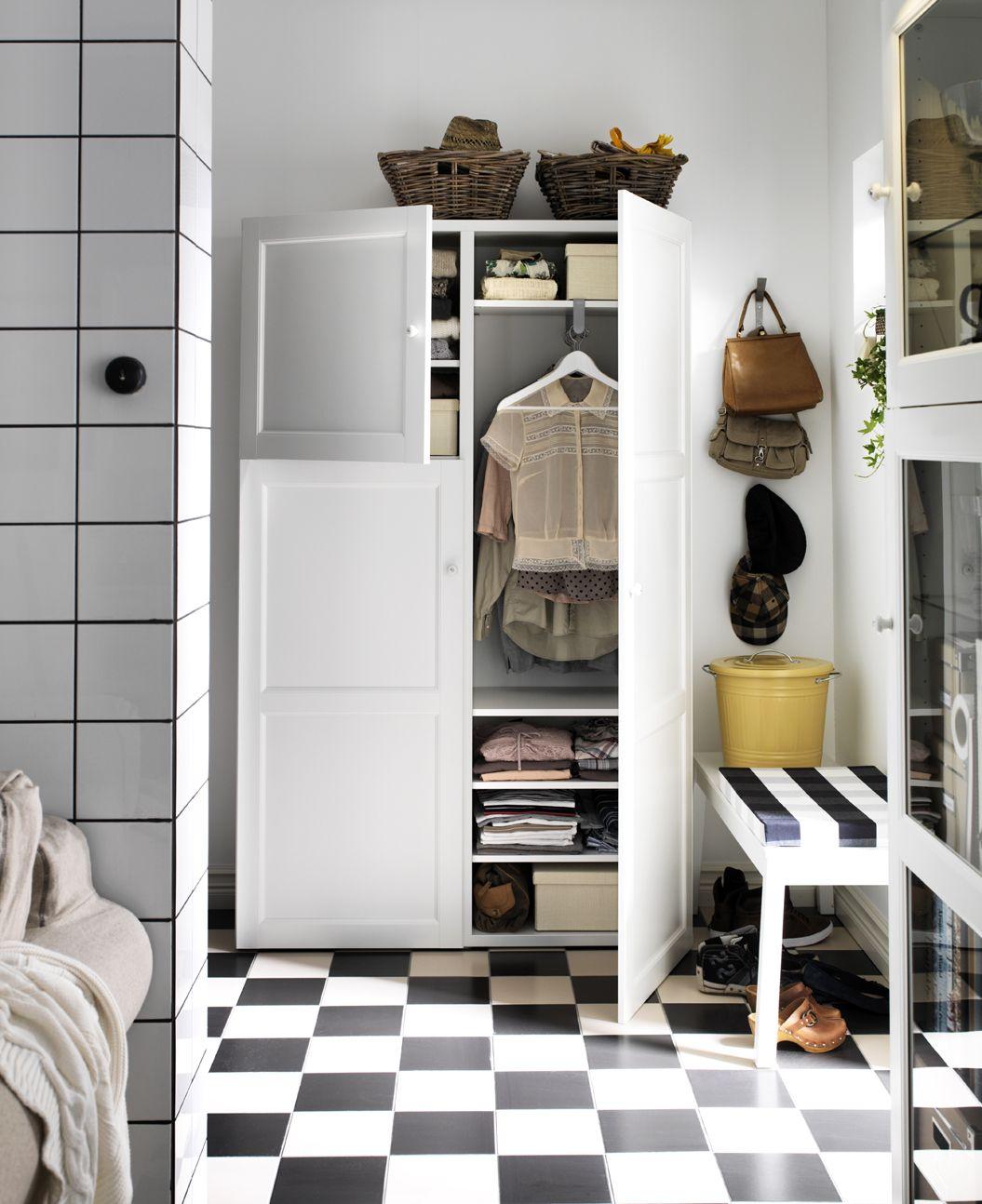 IKEA sterreich Inspiration Wohnzimmer Regal BEST Front BEST VASSBO Korb BYHOLMA  IKEA