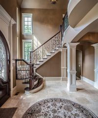 Traditional Staircase with Hardwood floors, Kesir ...