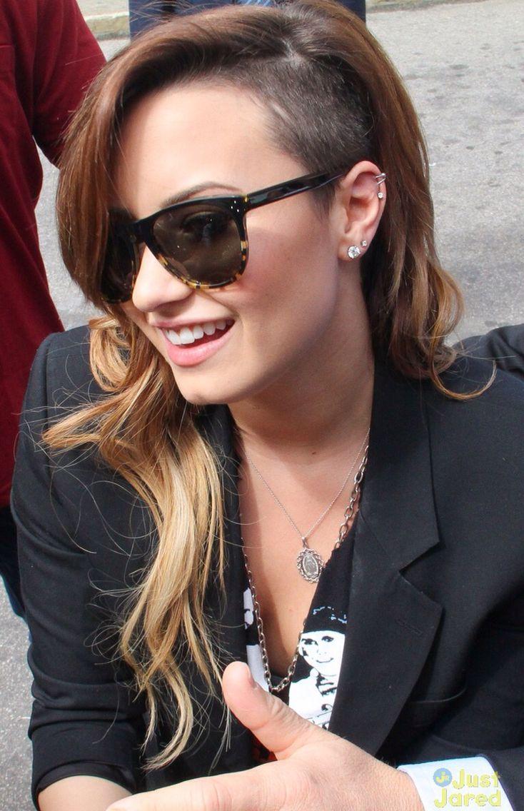 Demi Lovato Look Pinterest Half Shaved Undercut