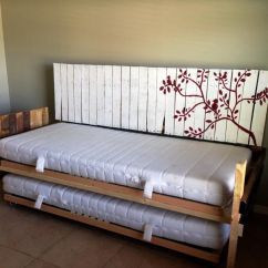 Diy Daybed Sofas How To Cover Sofa Cushions Without Sewing Image Of Headboard Ideas Home Made Products