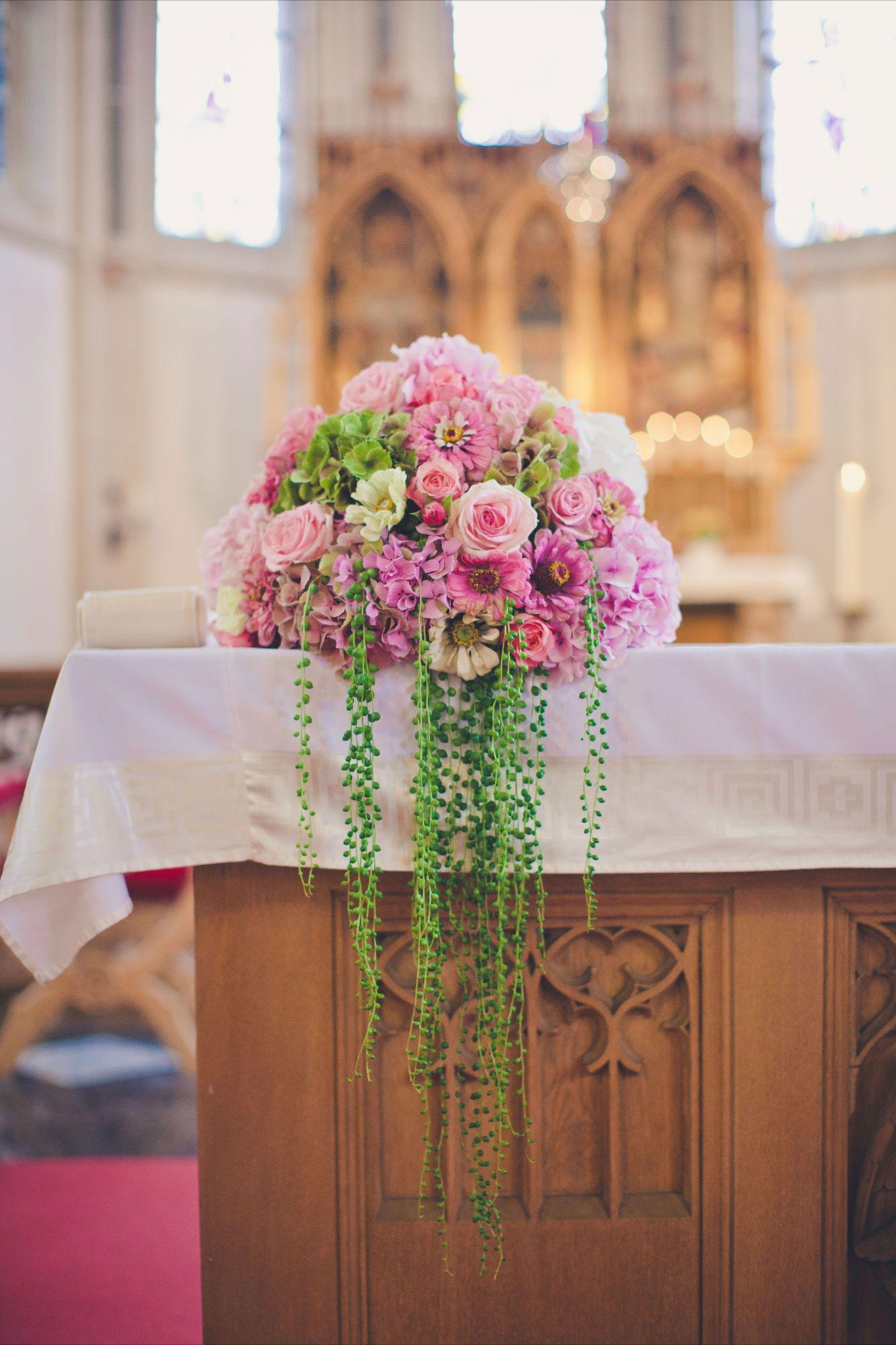 Altargesteck  church altar floral arrangement etc