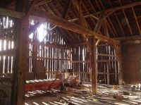 interior of a barn | Inside the Old Barn | wizard of oz ...