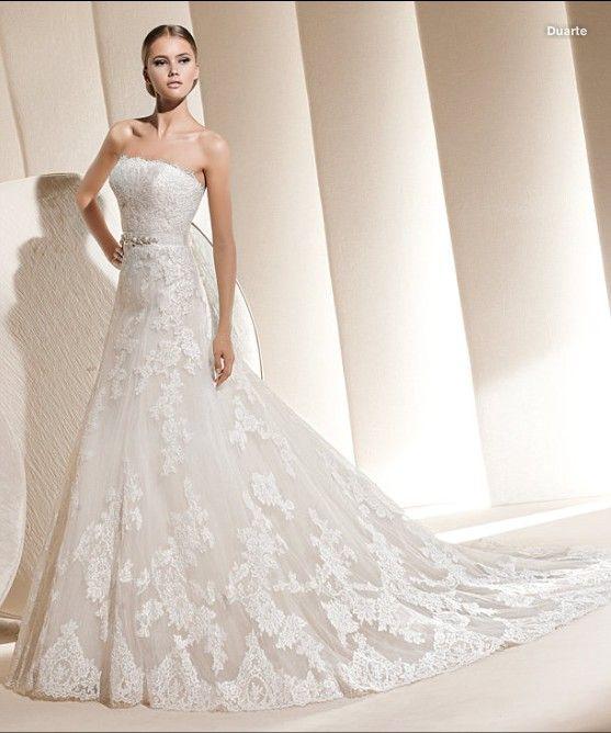 Hochzeitskleider Mit Spitze 3 Brautkleider Pinterest