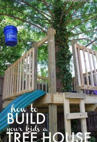 DIY Cool Kids Pallet Tree House | EASY DIY and CRAFTS ...