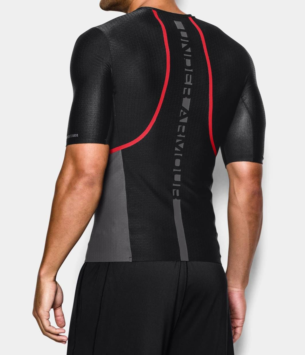 mens ua clutchfit half sleeve compression t shirt under armour il