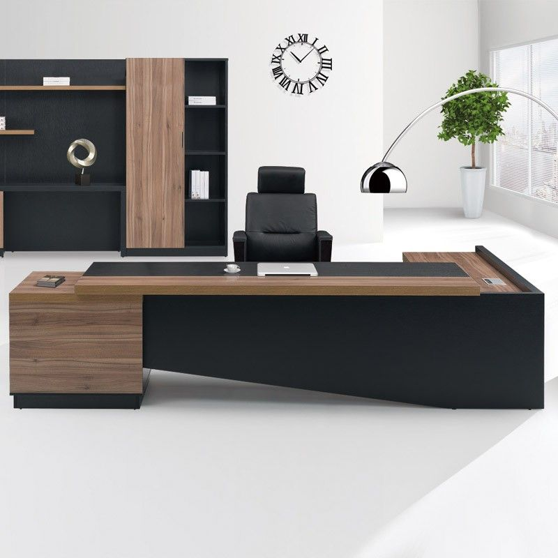 Fashion High End Office System Furniture L Shape Manager