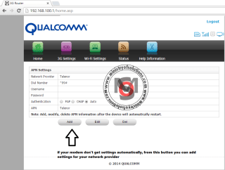 Use Any 3G USB Modem With PTCL Modem Router