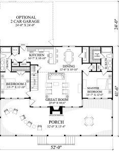 Cabin style house plan beds baths sq ft small log home also rh pinterest