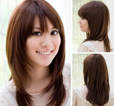 Haircuts For Oval Faces And Fine Hair Haircuts For Long Fine