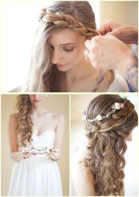 3 Gorgeous Wedding #Hairstyles | Hairstyles | Pinterest ...