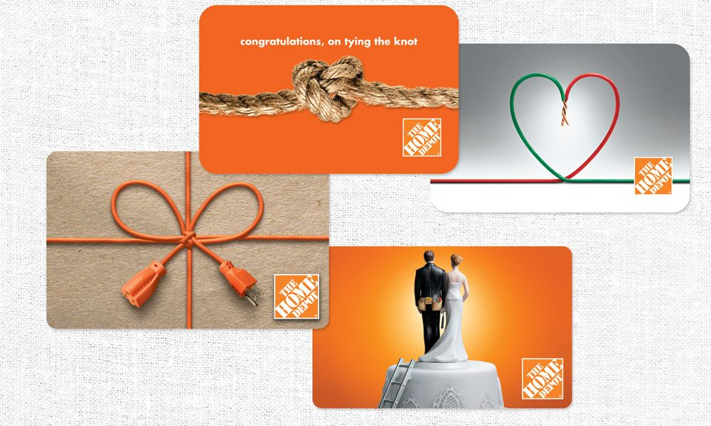 The Home Depot Gift Card Design MSI – A Marketing Communications
