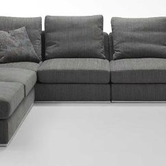 L Shaped Sofa For Office Sectional Corner Table Appealing Come With Grey Modern Comfy Fabric