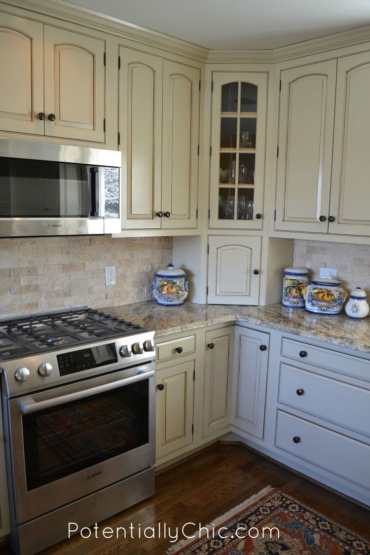 Lighter And Brighter Kitchen In Linen Milk Paint And Van