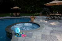 Backyard patio created with Cambridge Pavers. | Cambridge ...