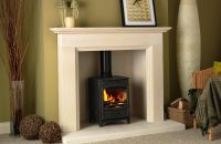 Limestone Fireplace Surrounds for Wood Burners | Fireplace ...