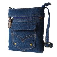 Donalworld Women Mini Denim Cross Body Bag Messenger