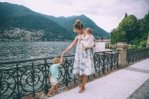 Barefoot Blonde In Lake Como Casta Diva Resort And Spa