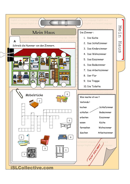 das Haus und die Mbelstcke  German  Pinterest