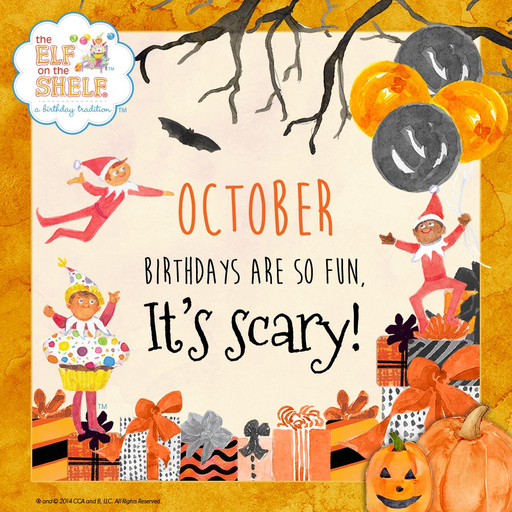 October Birthday Party Ideas
