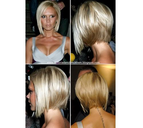 Bob Hairstyle Back View Victoria Beckham Bob Haircut Back View