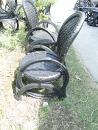 Recycled Rubber Tire Chairs Made In My Little Factory in ...