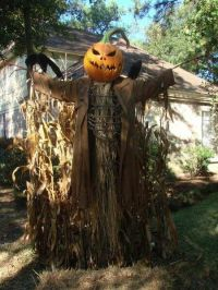 Scary Pumpkin Scarecrow 2015 Halloween Decorations ...
