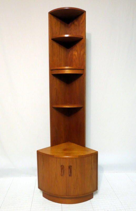 Mid Century Modern curio cabinets  Vintage Mid Century