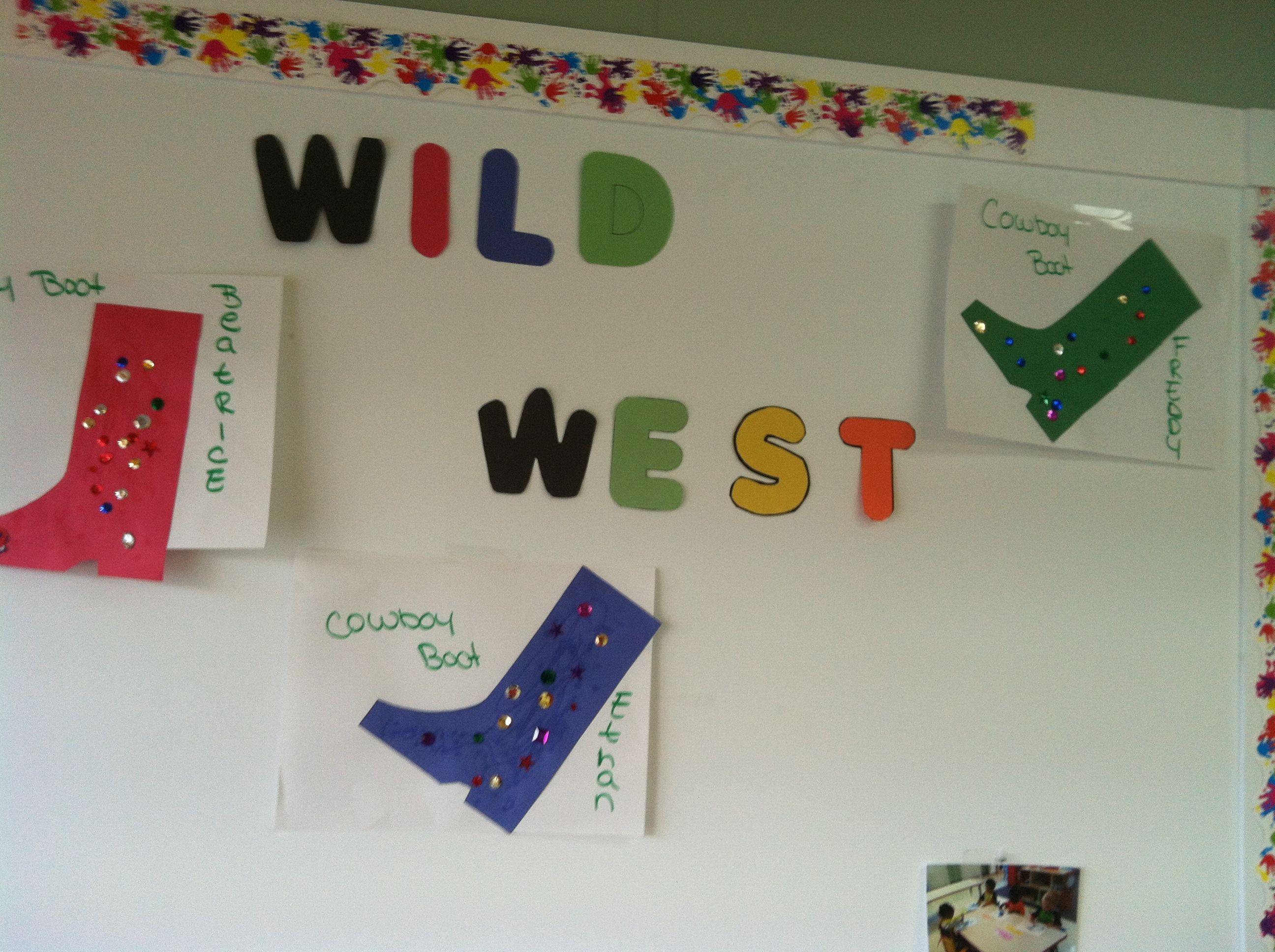 Wesley Summer Preschool Personalized Cowboy Boots