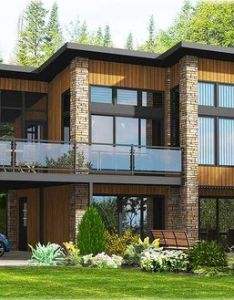 Dramatic contemporary home plan pd architectural designs house plans also large floor rh za pinterest
