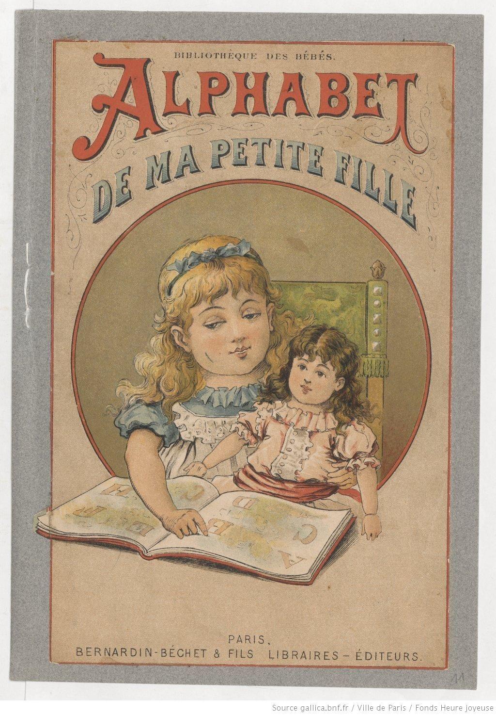 Alphabet De Ma Petite Fille