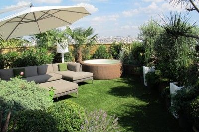 comment amenager une terrasse dappartement  HOME