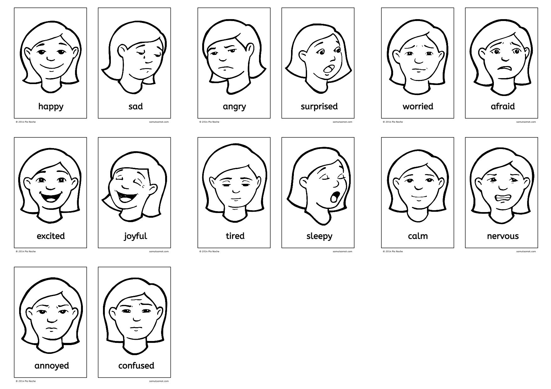 Vocabulary Of Feelings Esl Worksheets