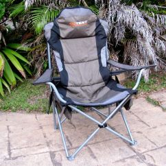 Oztent King Kokoda Chair Review Steel Singapore Folding Chairs Goanna Comfy As
