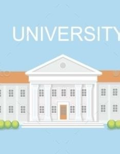 University or college building also vector design and font logo rh pinterest