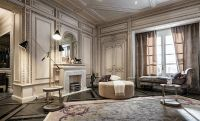 Neoclassical And Art Deco Features In Two Luxurious ...