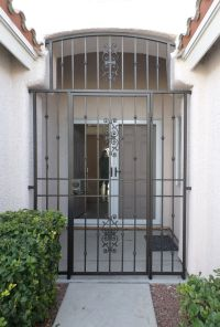 Wrought Iron Entry Gate | Wrought Iron Entryways ...