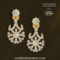 Diamond Earrings designs from GRT Jewellers | Earrings ...
