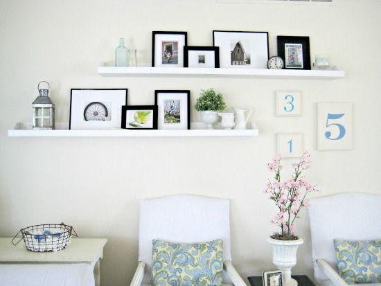 fotorichel idee  Wandplank  Pinterest  Planken