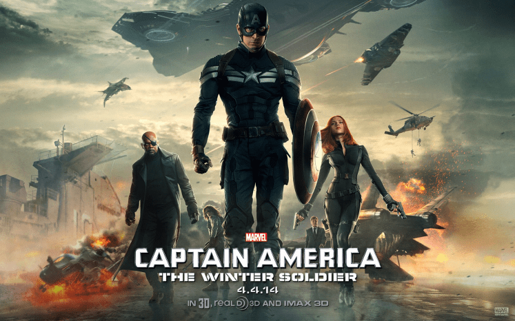 Risultati immagini per captain america the winter soldier wallpaper